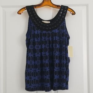 NWT. Michael Kors Sleeveless Top